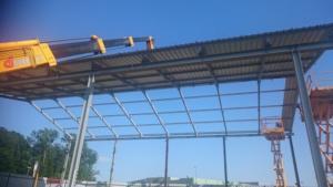 Stahlbau Montage- Steel constructions installation-montaža kovinskih konstrukcij DOTATUS d.o.o. (15)